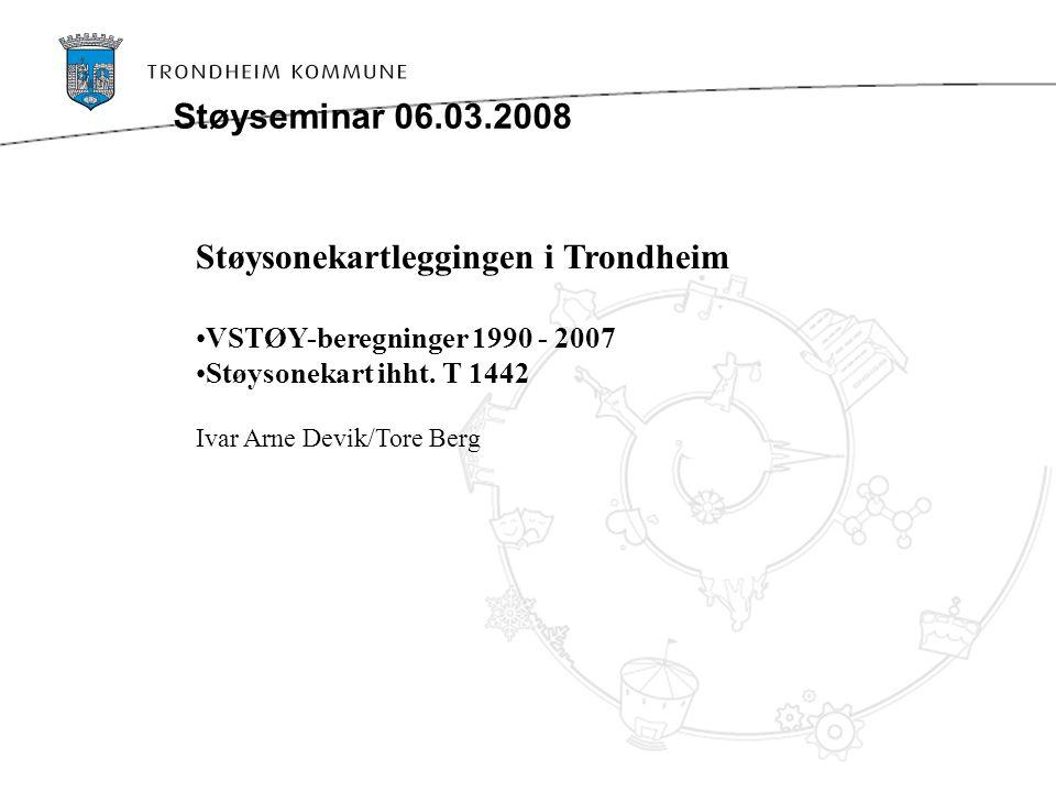 Støysonekartleggingen i Trondheim