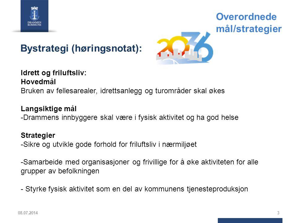 Overordnede mål/strategier