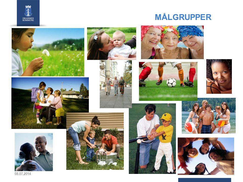 MÅLGRUPPER I forrige plan var målgruppene primært barn og unge, flerkulturelle, inaktive ungdom og jenter.