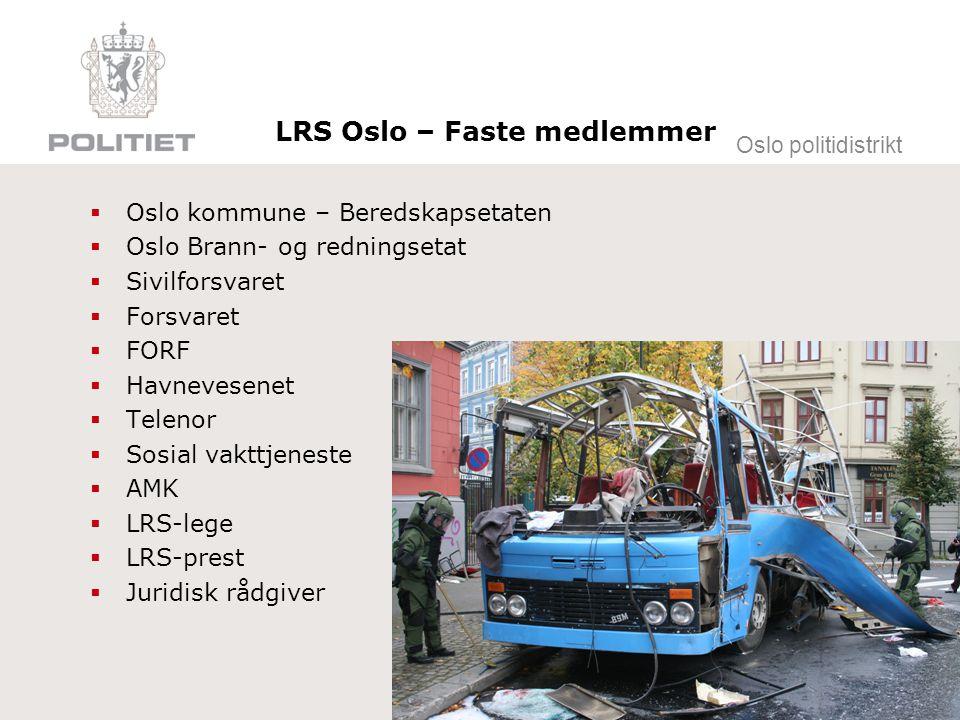 LRS Oslo – Faste medlemmer