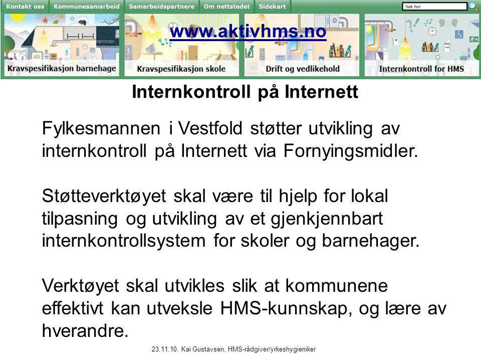 Internkontroll på Internett