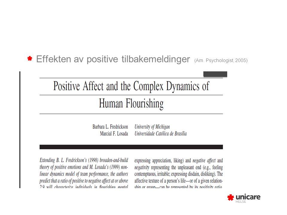 3.Positive sosiale relasjoner