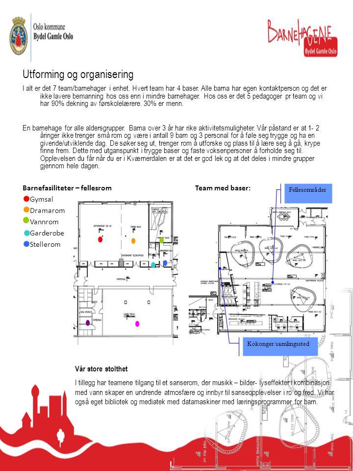 Utforming og organisering