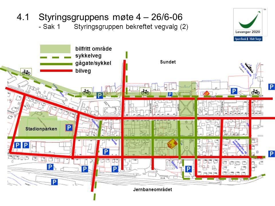 4. 1. Styringsgruppens møte 4 – 26/6-06 - Sak 1