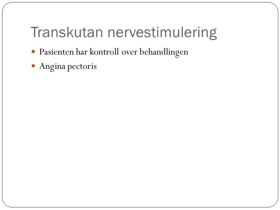 Transkutan nervestimulering