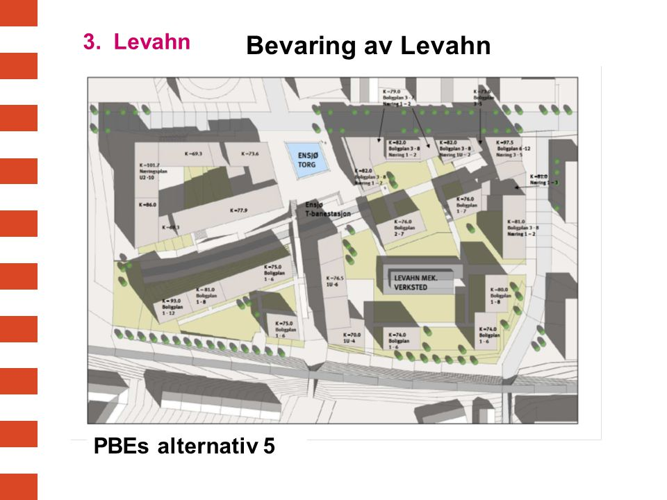 3. Levahn Bevaring av Levahn PBEs alternativ 5