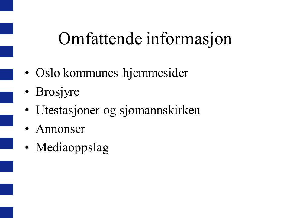 Omfattende informasjon