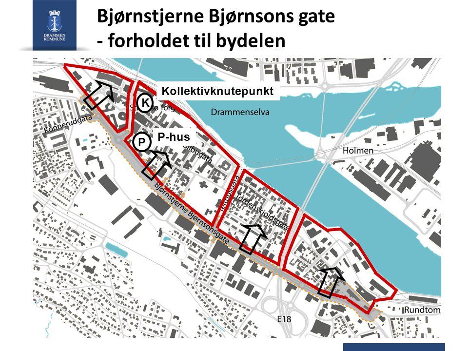 Bjørnstjerne Bjørnsons gate - forholdet til bydelen