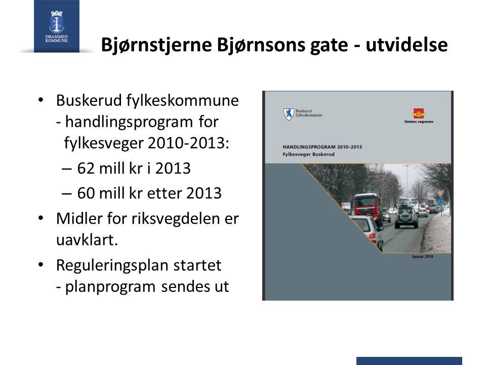 Bjørnstjerne Bjørnsons gate - utvidelse