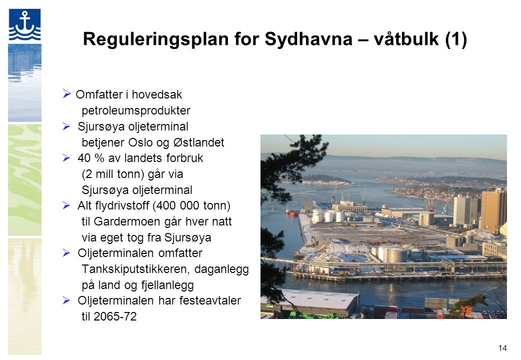 Reguleringsplan for Sydhavna – våtbulk (1)