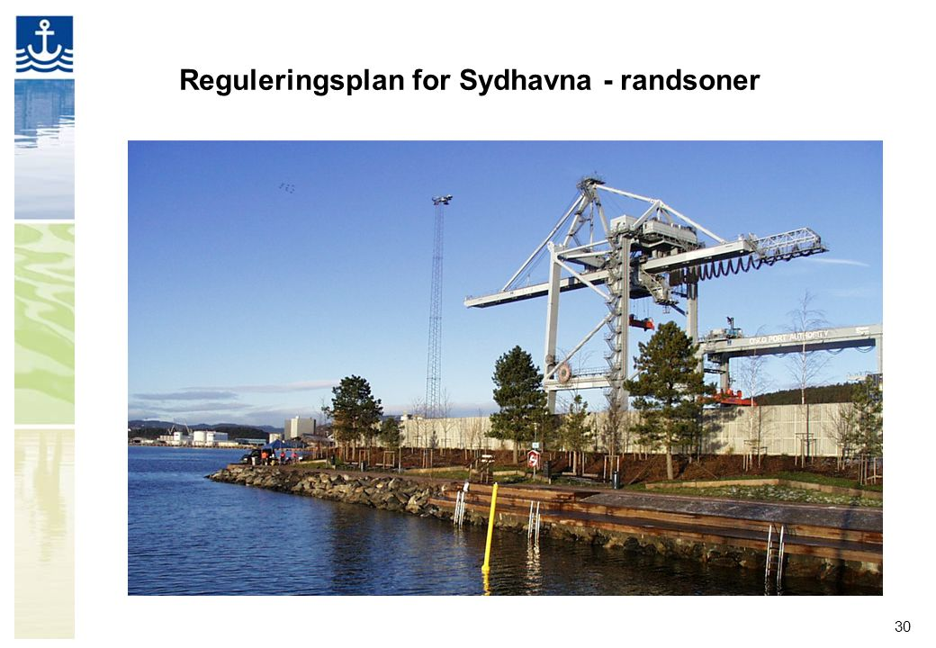 Reguleringsplan for Sydhavna - randsoner