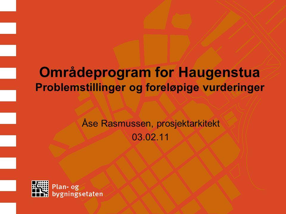 Åse Rasmussen, prosjektarkitekt 03.02.11