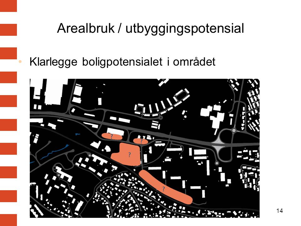 Arealbruk / utbyggingspotensial