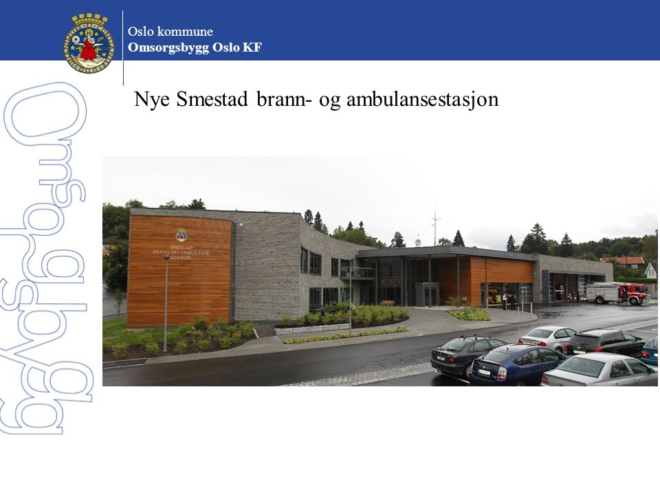 Nye Smestad brann- og ambulansestasjon