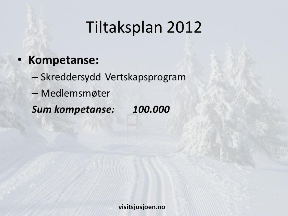 Tiltaksplan 2012 Kompetanse: Skreddersydd Vertskapsprogram