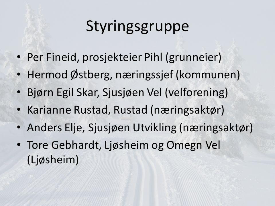 Styringsgruppe Per Fineid, prosjekteier Pihl (grunneier)