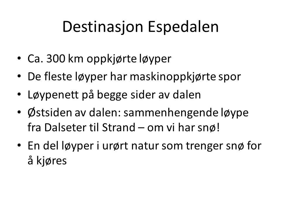 Destinasjon Espedalen