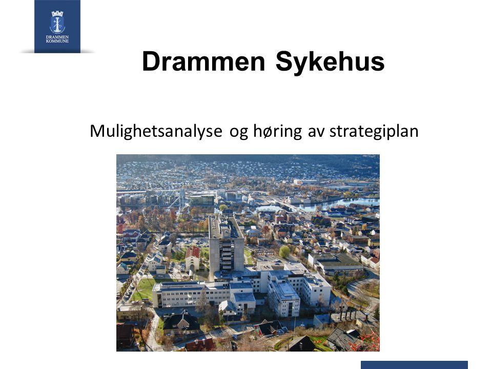 Mulighetsanalyse og høring av strategiplan