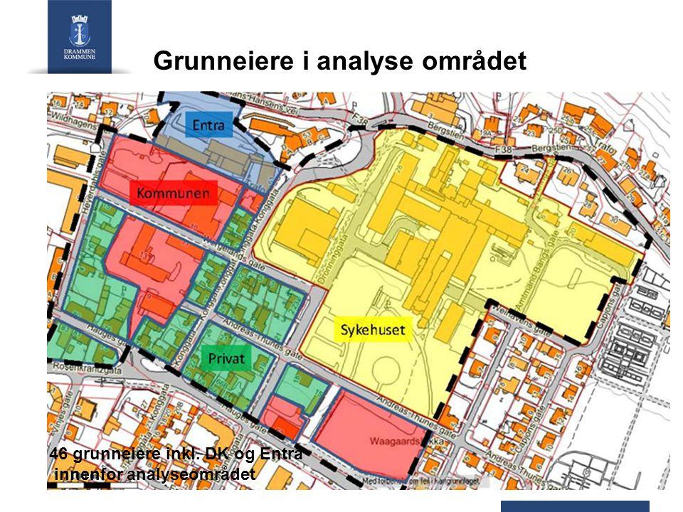 Grunneiere i analyse området