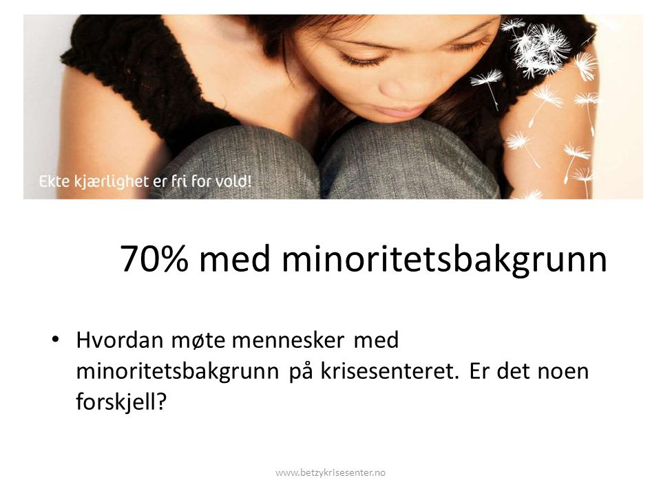 70% med minoritetsbakgrunn
