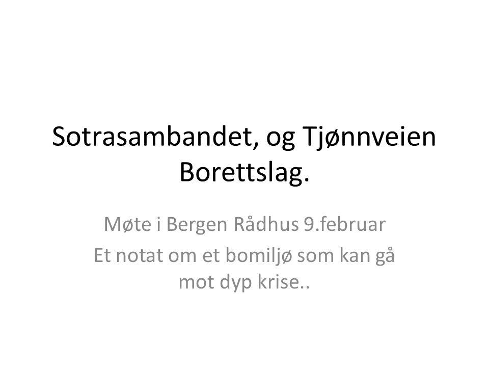 Sotrasambandet, og Tjønnveien Borettslag.