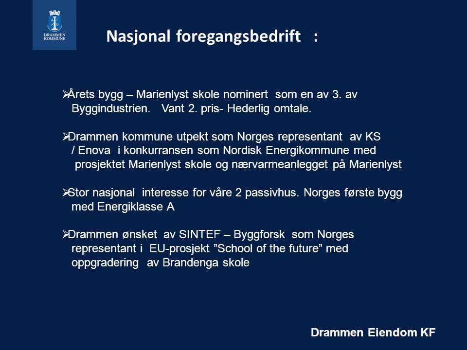 Nasjonal foregangsbedrift :