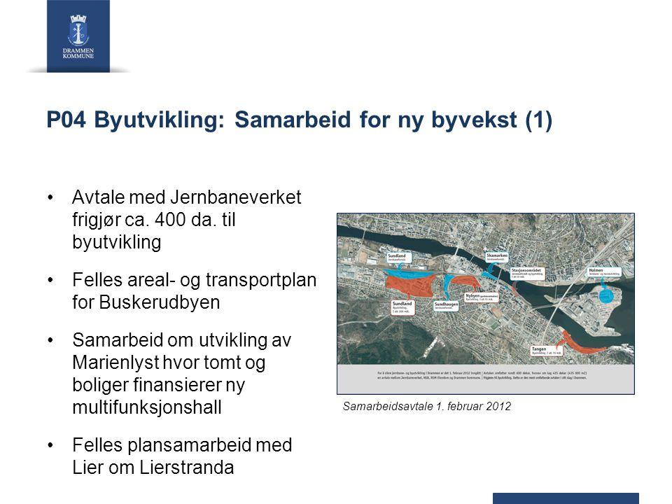 P04 Byutvikling: Samarbeid for ny byvekst (1)