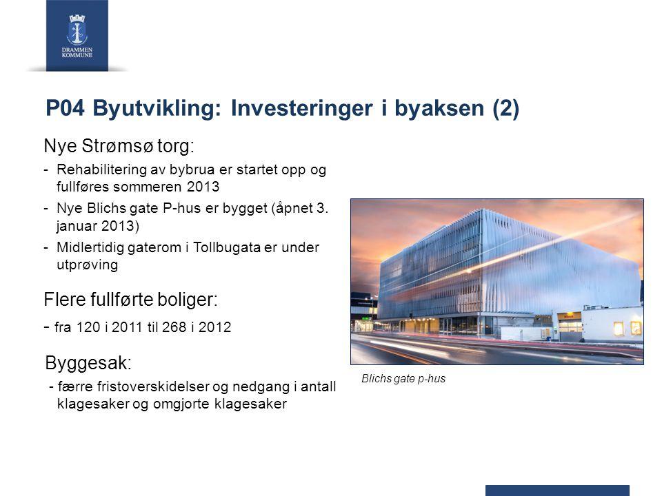 P04 Byutvikling: Investeringer i byaksen (2)