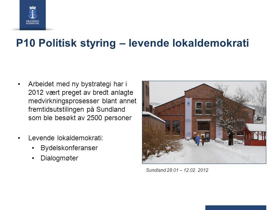 P10 Politisk styring – levende lokaldemokrati