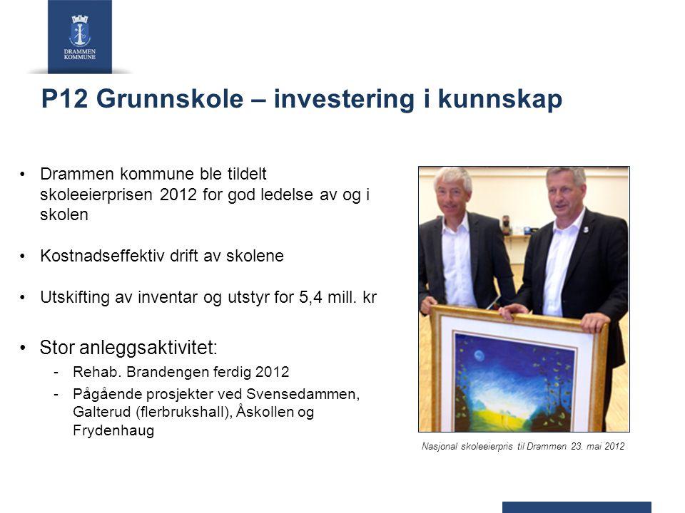 P12 Grunnskole – investering i kunnskap
