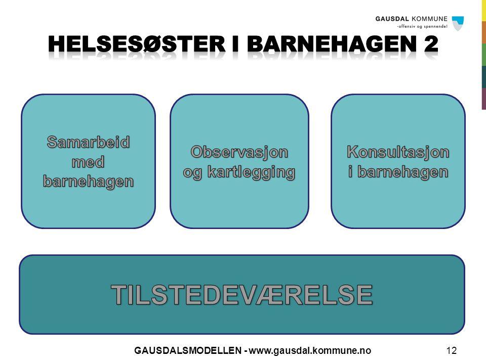 HELSESØSTER I BARNEHAGEN 2