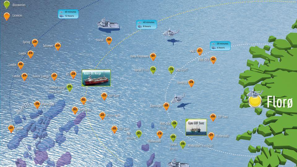 Statoil Flere rigger, økt boreaktivitet Valemon bygges ut