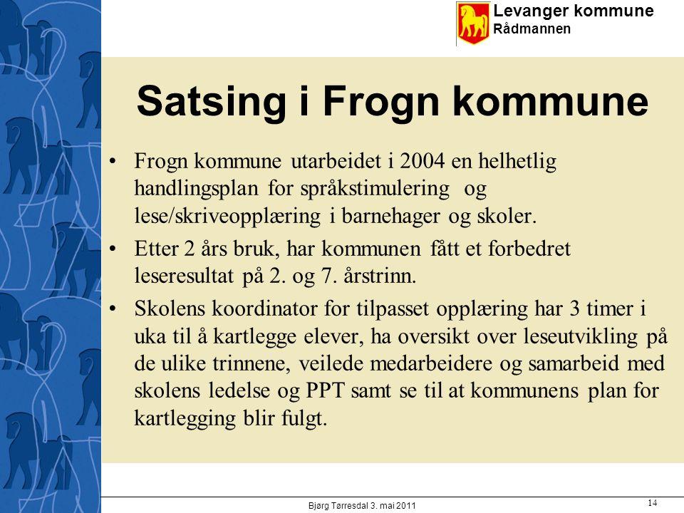 Satsing i Frogn kommune