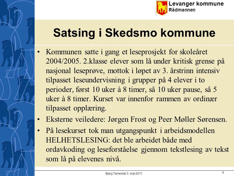 Satsing i Skedsmo kommune
