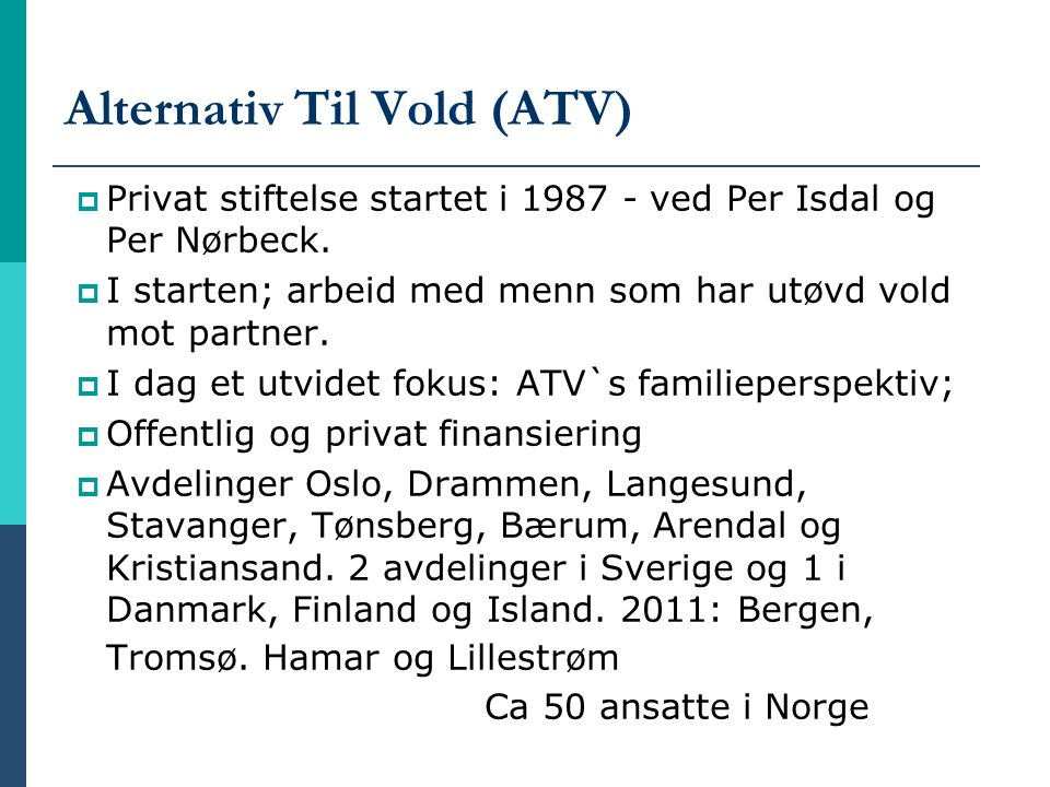 Alternativ Til Vold (ATV)