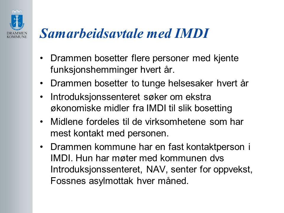 Samarbeidsavtale med IMDI