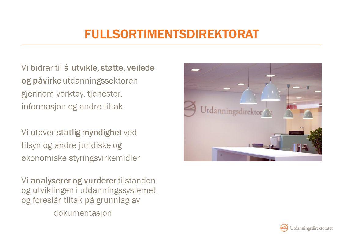 FULLSORTIMENTSDIREKTORAT