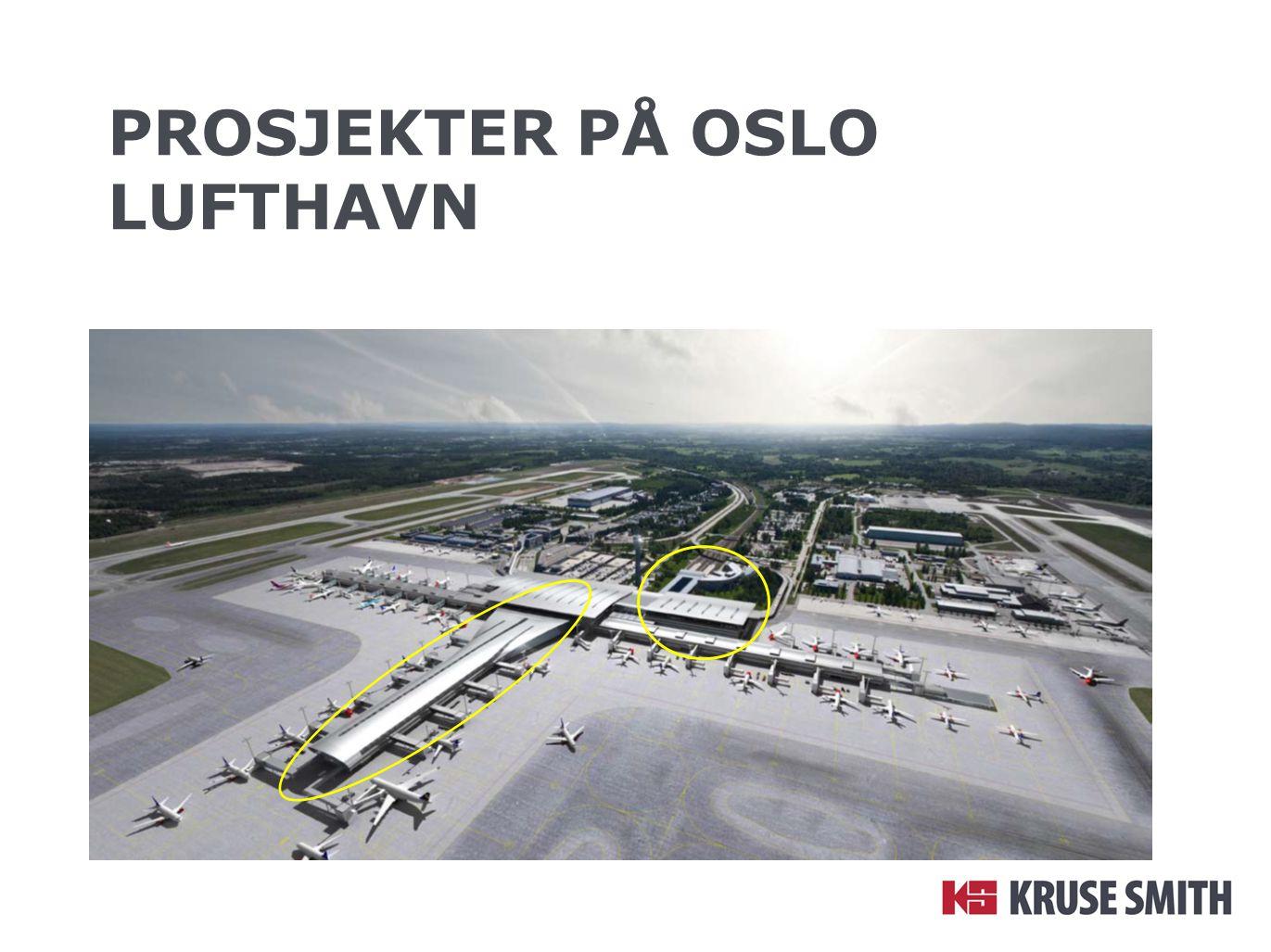 Prosjekter på OSLo lufthavn