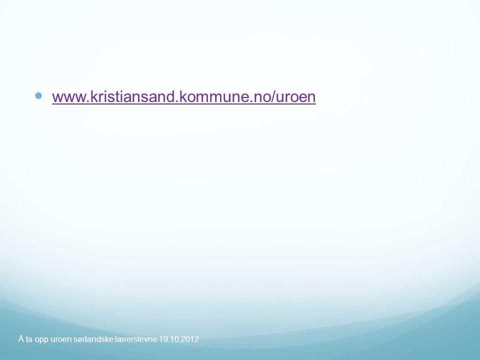 www.kristiansand.kommune.no/uroen