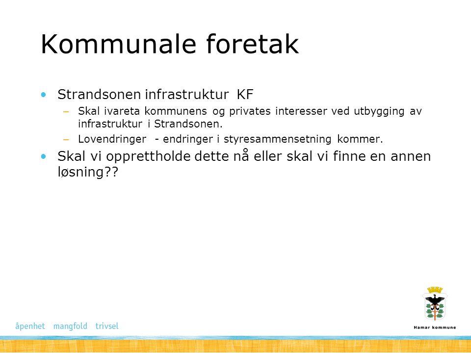 Kommunale foretak Strandsonen infrastruktur KF