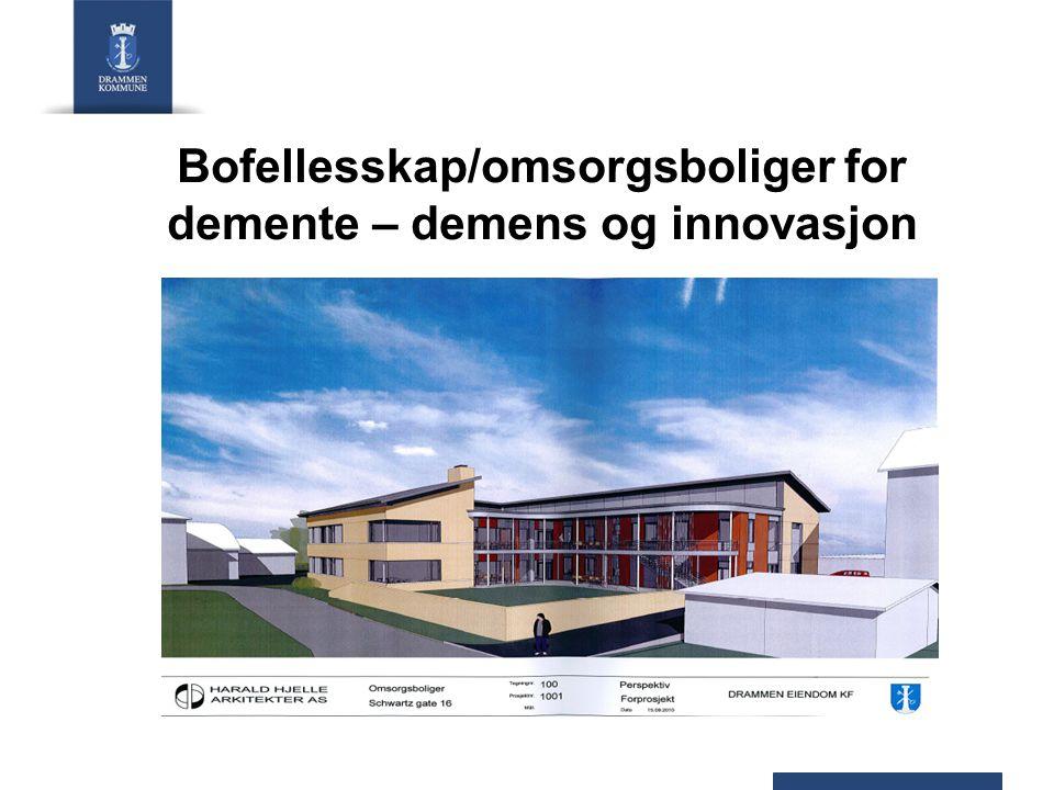 Bofellesskap/omsorgsboliger for demente – demens og innovasjon