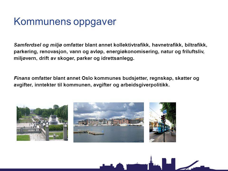 Kommunens oppgaver