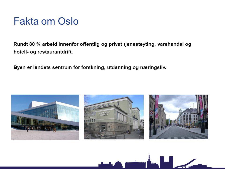 Fakta om Oslo