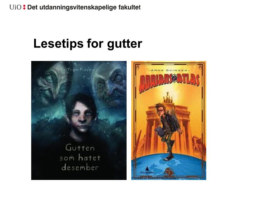 Lesetips for gutter