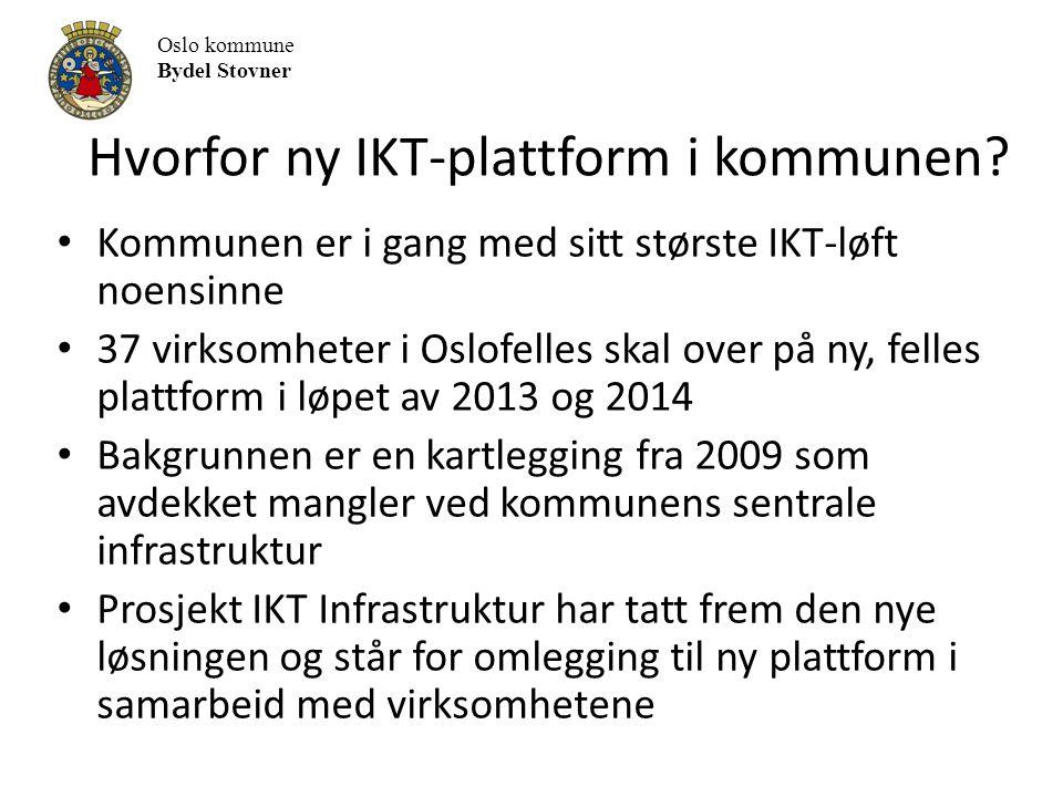 Hvorfor ny IKT-plattform i kommunen