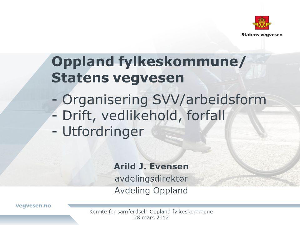 Komite for samferdsel i Oppland fylkeskommune 28.mars 2012