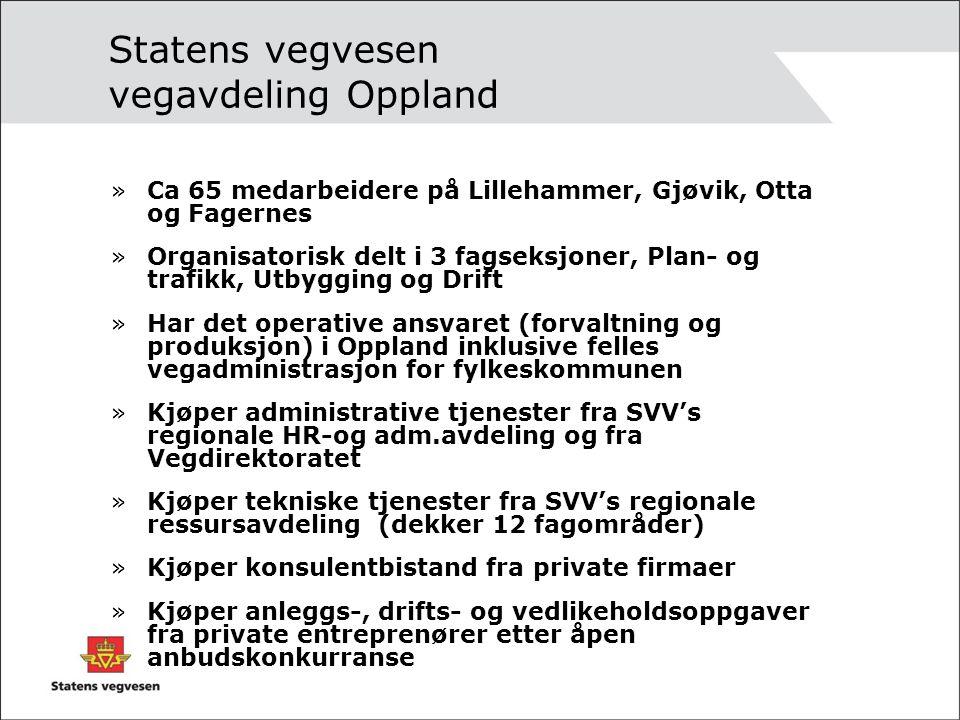 Statens vegvesen vegavdeling Oppland
