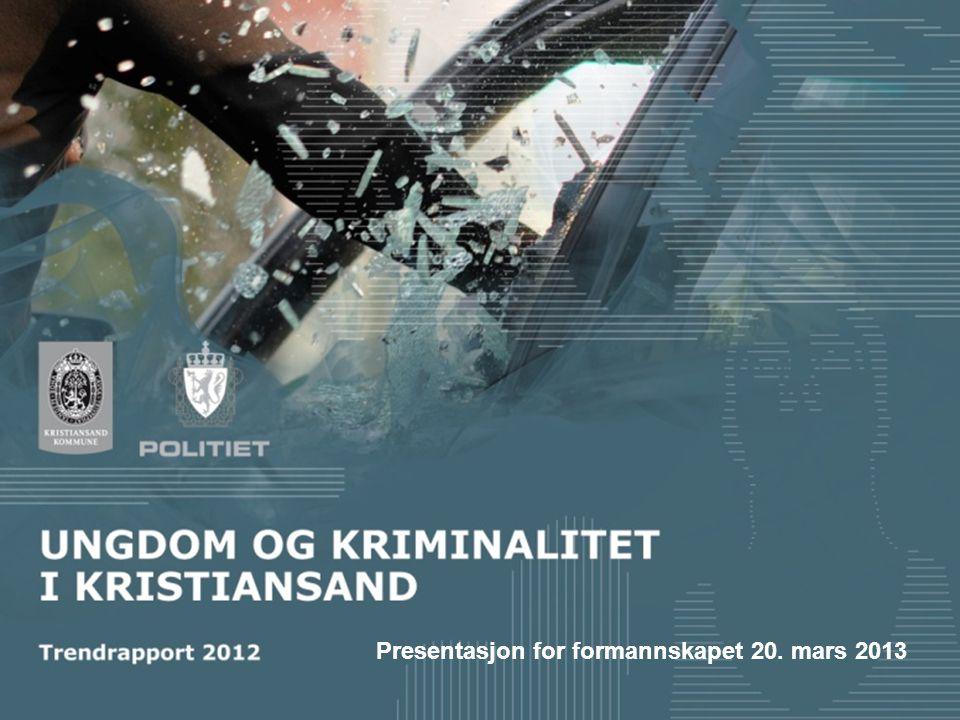Presentasjon for formannskapet 20. mars 2013