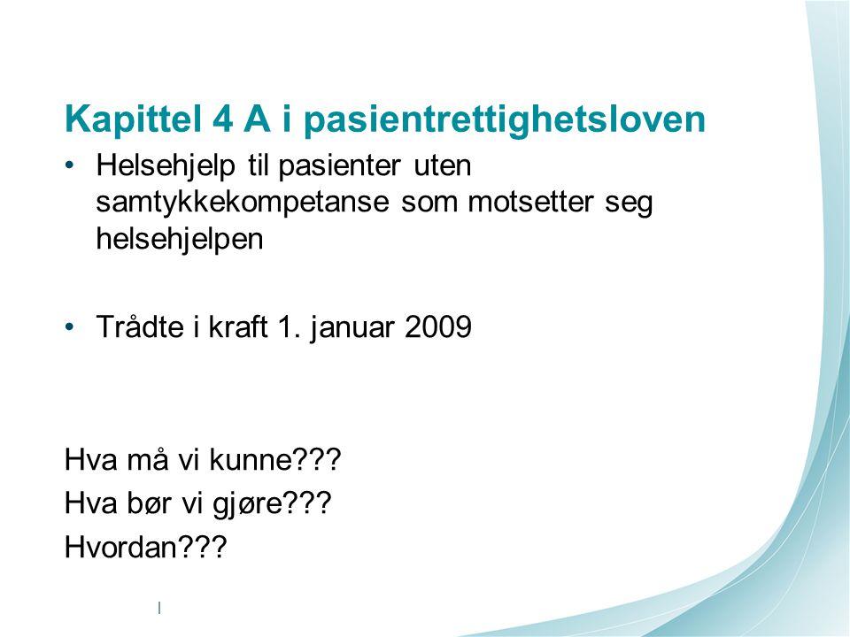 Kapittel 4 A i pasientrettighetsloven