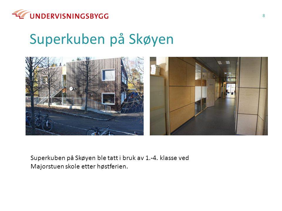 Superkuben på Skøyen Superkuben på Skøyen ble tatt i bruk av 1.-4.